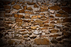 Vintage stone wall Royalty Free Stock Photos
