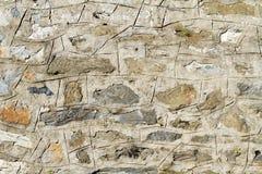 Vintage stone wall detail Royalty Free Stock Photo