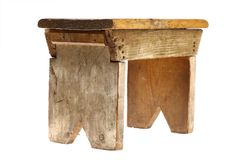 Vintage stool Royalty Free Stock Image