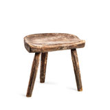 Vintage stool royalty free stock photos