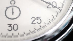 Vintage Stop Watch stock video footage
