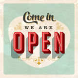 Vintage store sign royalty free illustration