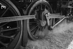 Vintage stream engine train Royalty Free Stock Photography