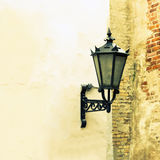 Vintage street lamp Stock Images