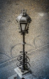 Vintage Street Lamp In Europe Stock Images