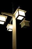Vintage street lamp light Stock Photography