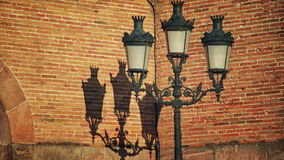 Vintage street lamp Royalty Free Stock Photo