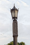Vintage Street Lamp. Made out of metal Royalty Free Stock Photos