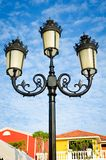 Vintage street lamp post Royalty Free Stock Photo