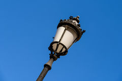 Vintage Street Lamp On Sky Stock Photography
