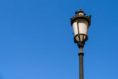 Vintage Street Lamp On Sky Royalty Free Stock Image