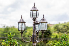 Vintage street lampost Stock Photography
