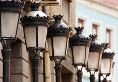 Vintage Street Lamps Royalty Free Stock Photos