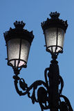 Vintage street lamps Stock Photography