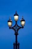 Vintage street light Stock Photo