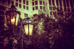Vintage Street Lighting Pole Royalty Free Stock Image