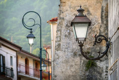 Vintage street lights Royalty Free Stock Photo