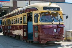 Vintage Streetcars part of Toronto heritage Royalty Free Stock Photo