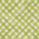 Vintage stripe background. Seamless pattern. Vintage green gingham stripe background. Old aged paper with watercolor hand drawn stripe pattern. Diagonal Stock Images