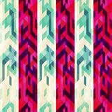 Vintage stripe seamless pattern Stock Images
