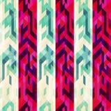 Vintage stripe seamless pattern Stock Images