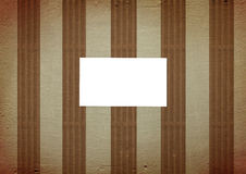 Vintage striped background Stock Images