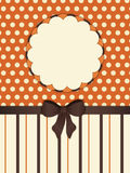 Vintage striped background border Stock Photography