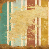 Vintage  striped background with spots Stock Photos