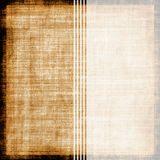 Vintage Striped Fabric Royalty Free Stock Photo