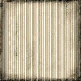 Vintage Striped Grunge. Stripes in brown sepia tones on a textured canvas of burlap grunge background Royalty Free Stock Photos