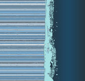 Vintage striped grunge a banner Royalty Free Stock Photos