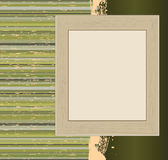 Vintage striped grunge banner Royalty Free Stock Photos
