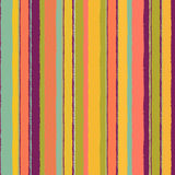 Vintage striped seamless pattern Stock Images