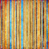 Vintage stripes. Vintage shabby colored striped background Stock Images