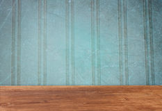 Vintage stripes blue background Royalty Free Stock Image