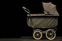 Vintage Stroller Royalty Free Stock Photo