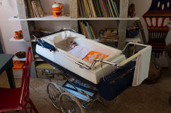 Vintage stroller Royalty Free Stock Photo