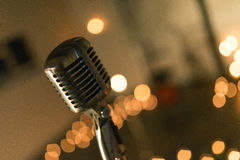 Vintage studio mic Royalty Free Stock Images