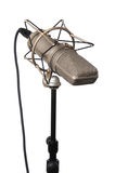 Vintage Studio Microphone Stock Photography