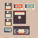 Vintage Stuff Icon Royalty Free Stock Photography