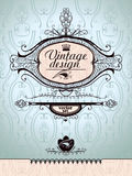Vintage style. Royalty Free Stock Images
