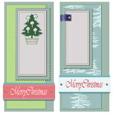 Vintage Style background Christmas and winter them Stock Image