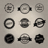 Vintage style badges Stock Image