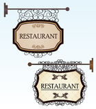 Vintage style banners Stock Photos