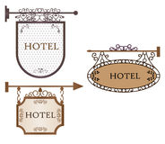 Vintage style banners Stock Image