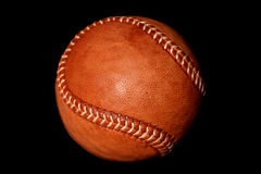 Vintage style baseball Stock Photo