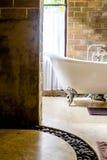 Vintage style bathroom Stock Photography
