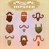 Vintage Style beard Royalty Free Stock Photography
