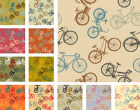 Vintage style bikes Royalty Free Stock Photography