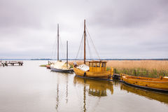Vintage style boats Stock Photography